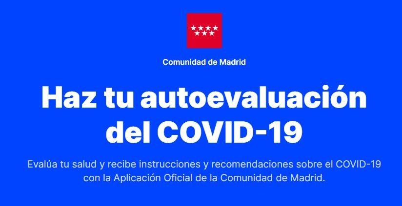 Haz tu autoevaluación del COVID-19