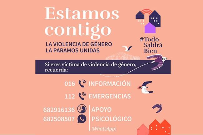 Atención de forma telemática para las víctimas de violencia de género