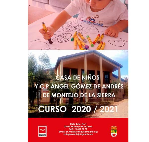 C.P. Ángel Gómez de Andrés y Casa de niños de Montejo de la Sierra