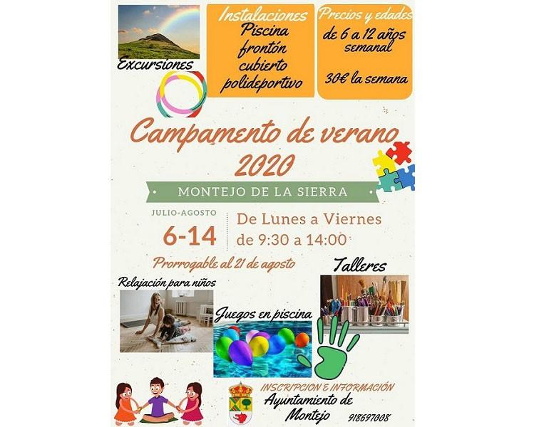 Campamento de verano 2020 en Montejo de la Sierra ☀️
