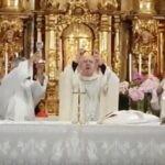 Misa en Montejo de la Sierra Oficiada por D. Carlos Osoro Obispo de Madrid