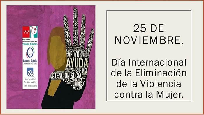25 de Noviembre. Día Internacional de la Eliminación de la Violencia contra la Mujer 👩