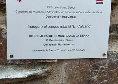 CARTEL INAUGURACIÓN EL CALVARIO