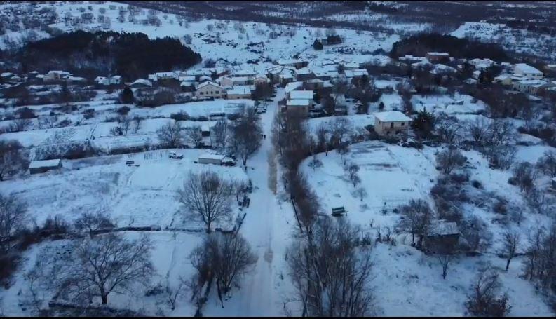 Primeras Nieves 2021 ❄️ Montejo de la Sierra ⛄