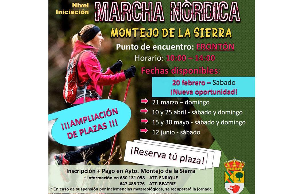 Marcha Nórdica en Montejo de la Sierra