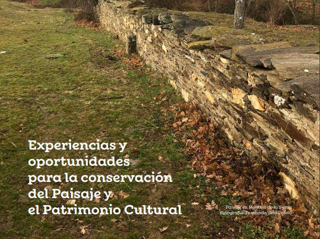 Ciclo de conferencias Paisaje y patrimonio en la Sierra Norte de Madrid
